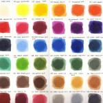 Faber-Castell Albrecht Durer Aquarelle Sticks chart